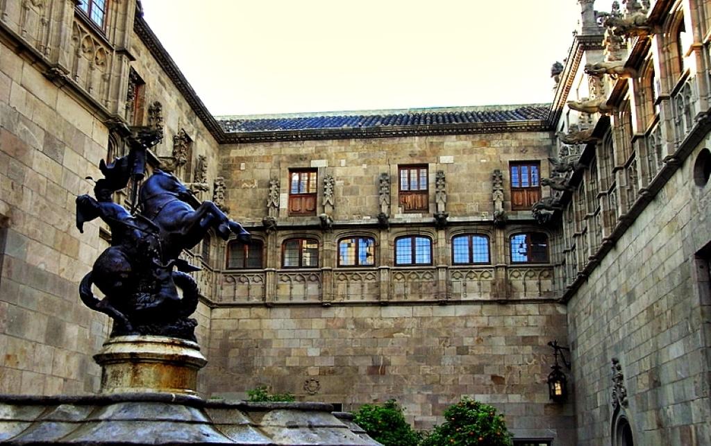 The Palau De La Generalitat In Barcelona Curiosities In Spain